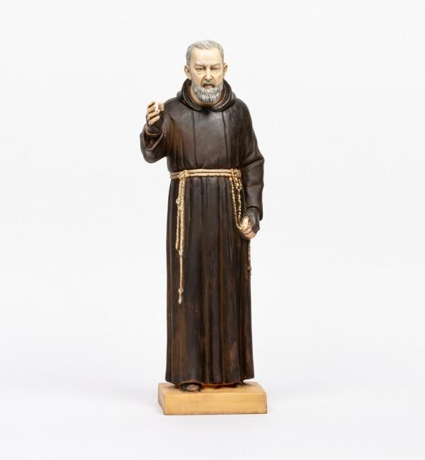 Padre Pio in resin 50 cm.