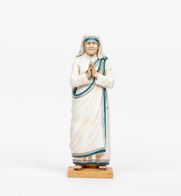 Mother Teresa in resin 47 cm.