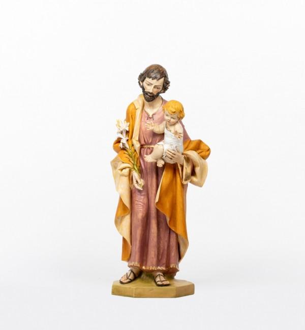 Saint Joseph with Child in resin 104 cm.
