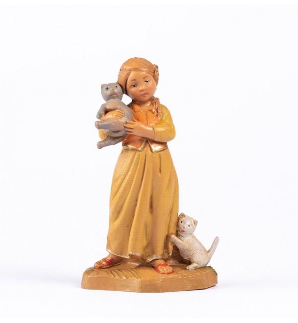 Shepherdess (132) for creche 12 cm.